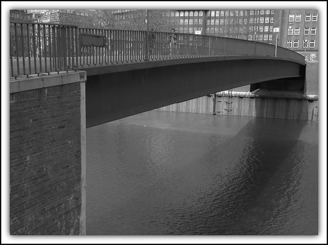 Wandrahmsteg Brücke