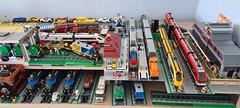 Lego mocs trains