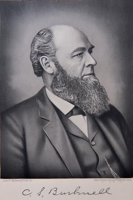 Cornelius S. Bushnell engraving detail
