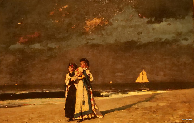 Promenade on the Beach, 1880, Winslow Homer, 1836-1910