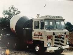 Not my photo ,from a show ,Foden S80 6x4 mixer ,CLUBB of Dartford ,Kent .VKJ 906S .