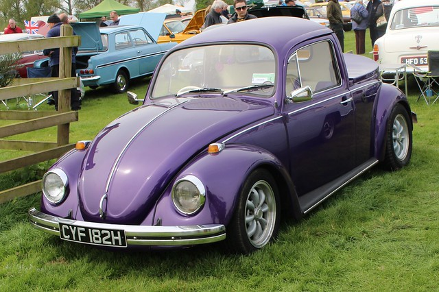 510 Volkswagen Beetle 1300 (Modified to Pick Up) (1970) CYF 182 H