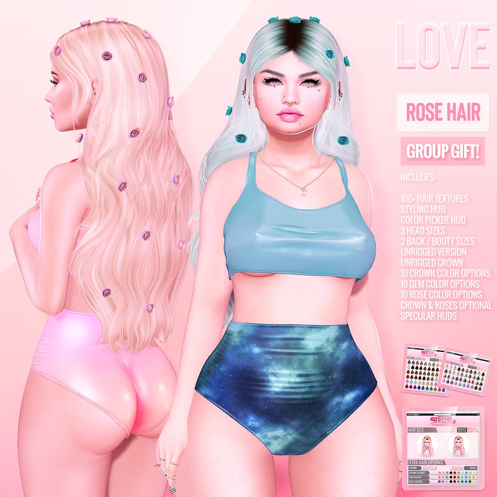 Love 💖 [FREE HAIR FATPACK] 💖 @ The Main Store!