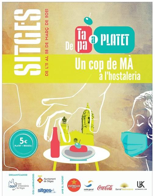 Sitges De Tapa a Platet, edició març 2021