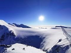 Výhled z Malého Matterhornu (3 883 m)