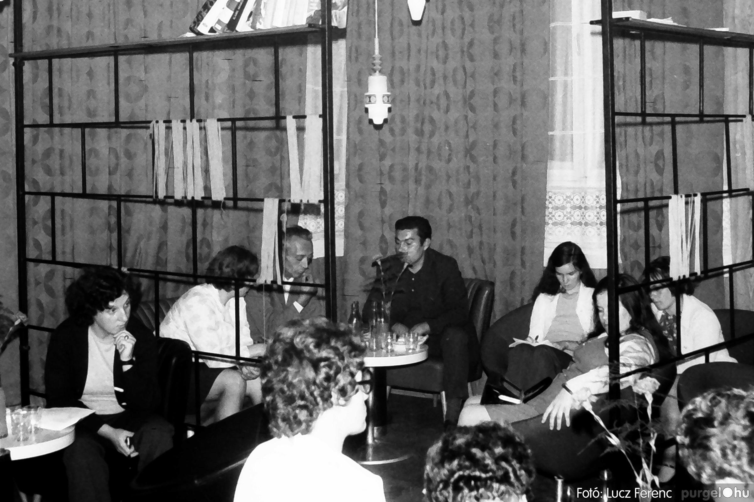 053. 1976. Klubdélután 004. - Fotó: Lucz Ferenc.jpg