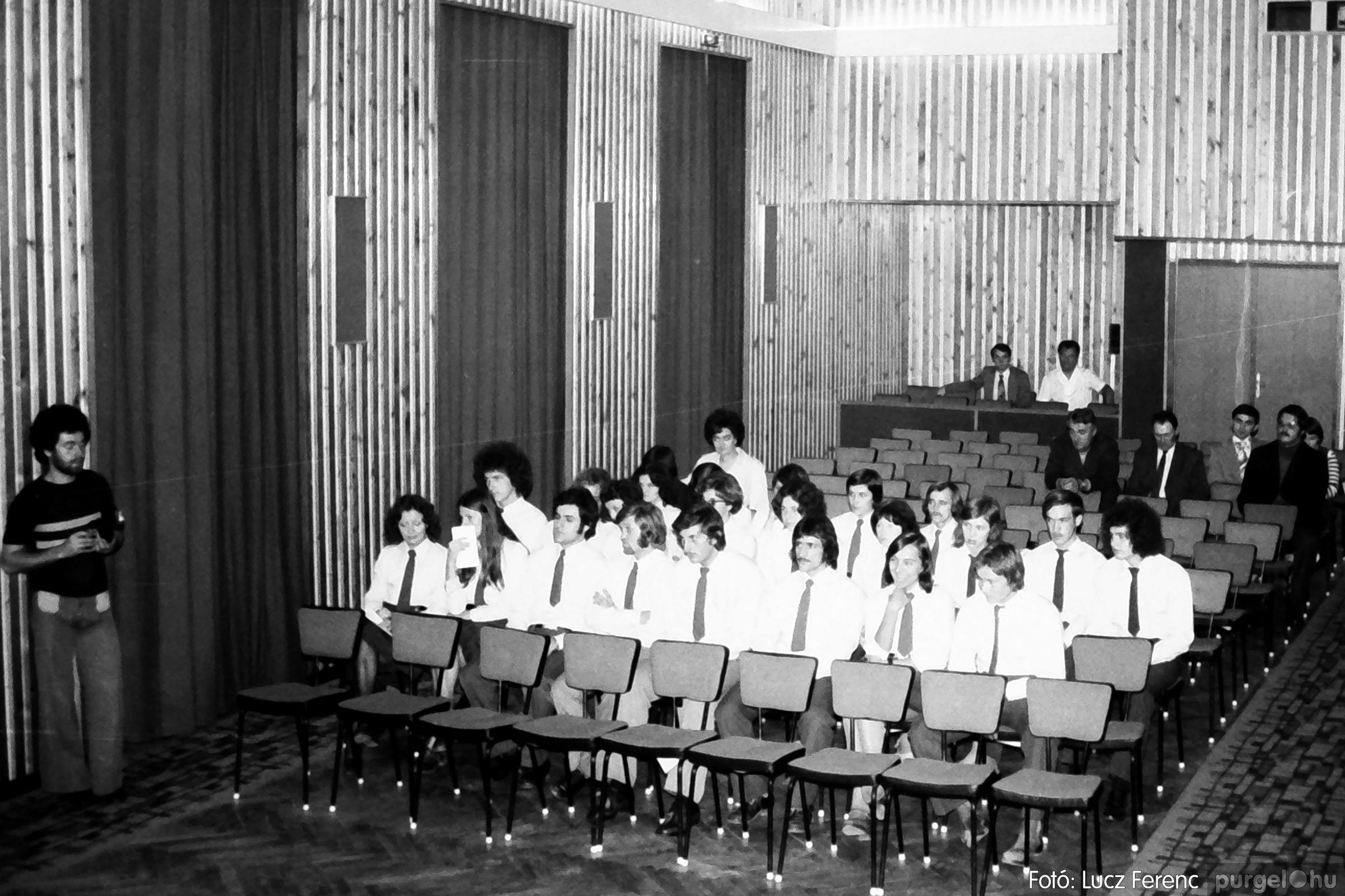 053. 1976. Ünnepi ülés 013. - Fotó: Lucz Ferenc.jpg