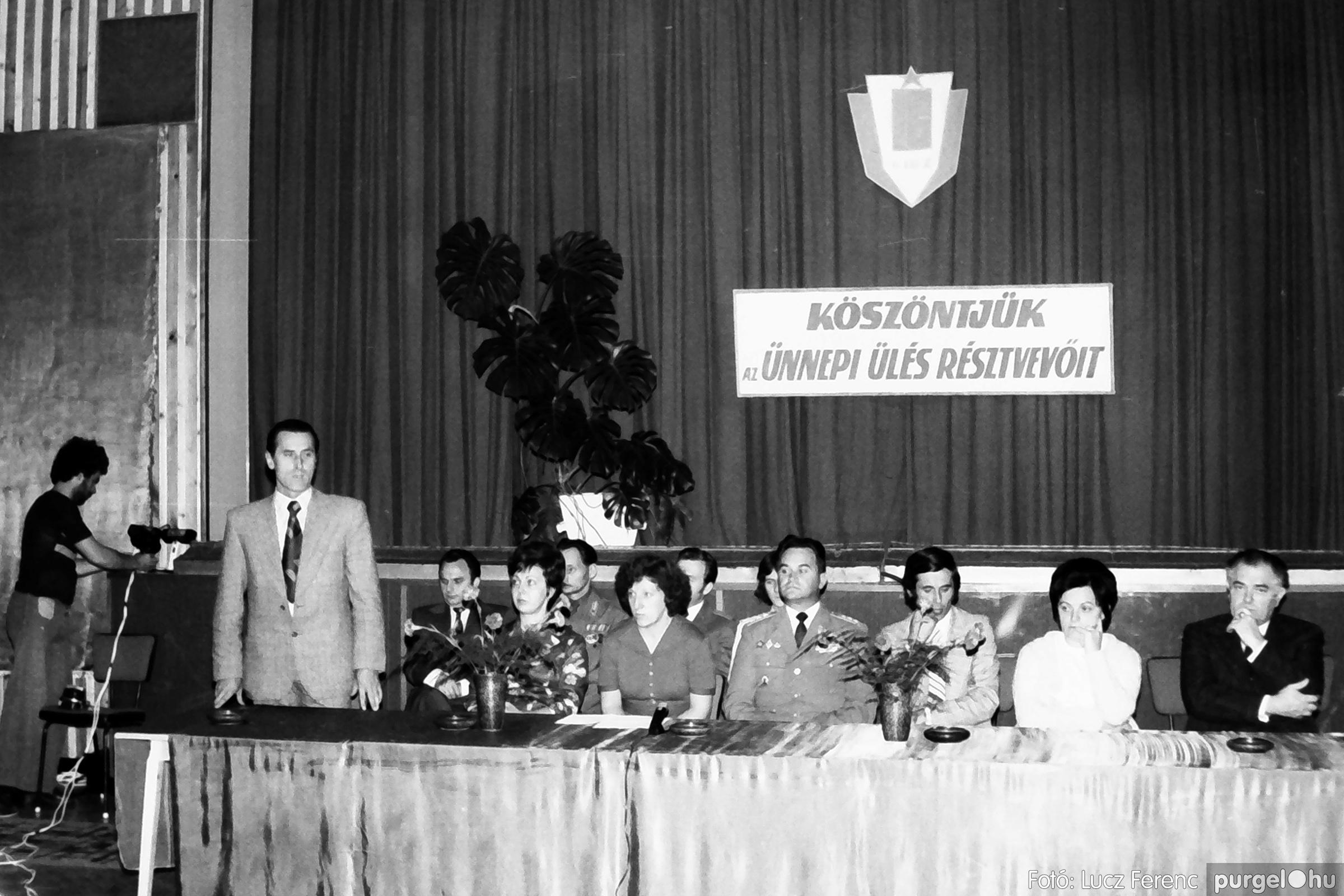 053. 1976. Ünnepi ülés 006. - Fotó: Lucz Ferenc.jpg