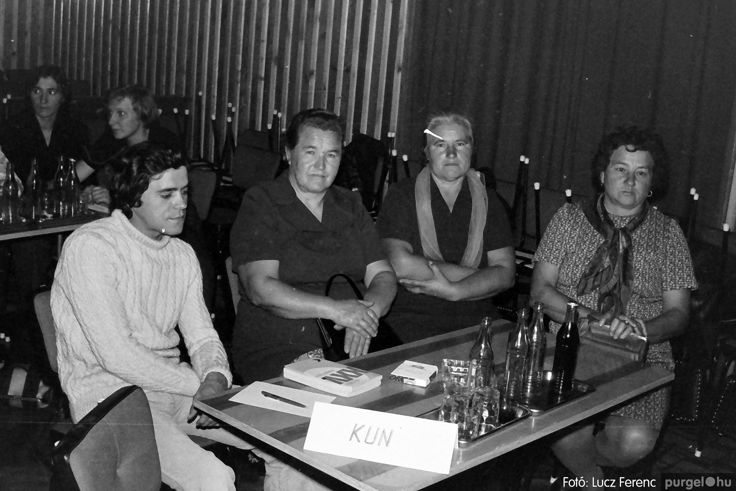 061, 063. 1976. Puskin TSZ szocialista brigádverseny 008. - Fotó: Lucz Ferenc.jpg