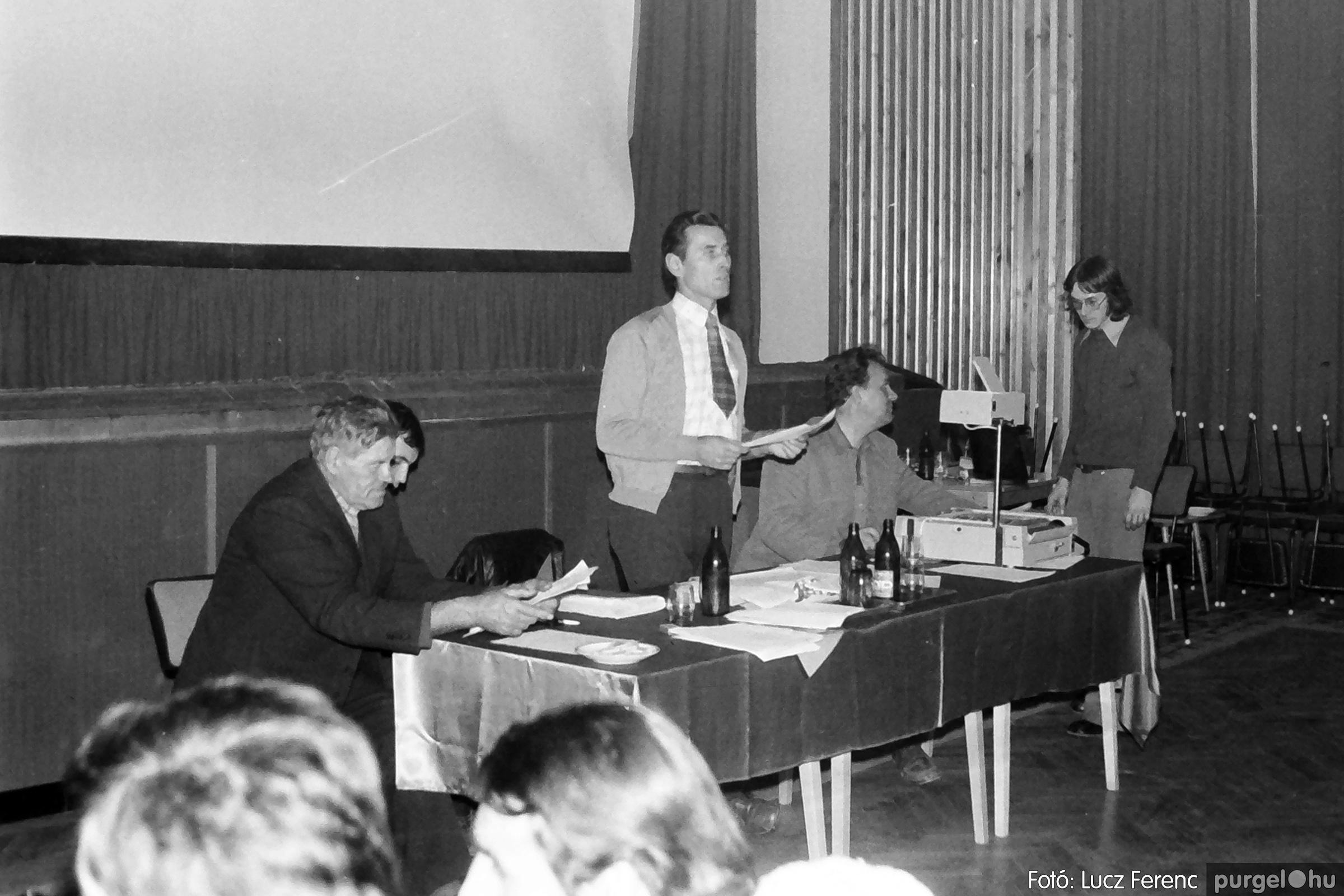 061, 063. 1976. Puskin TSZ szocialista brigádverseny 027. - Fotó: Lucz Ferenc.jpg