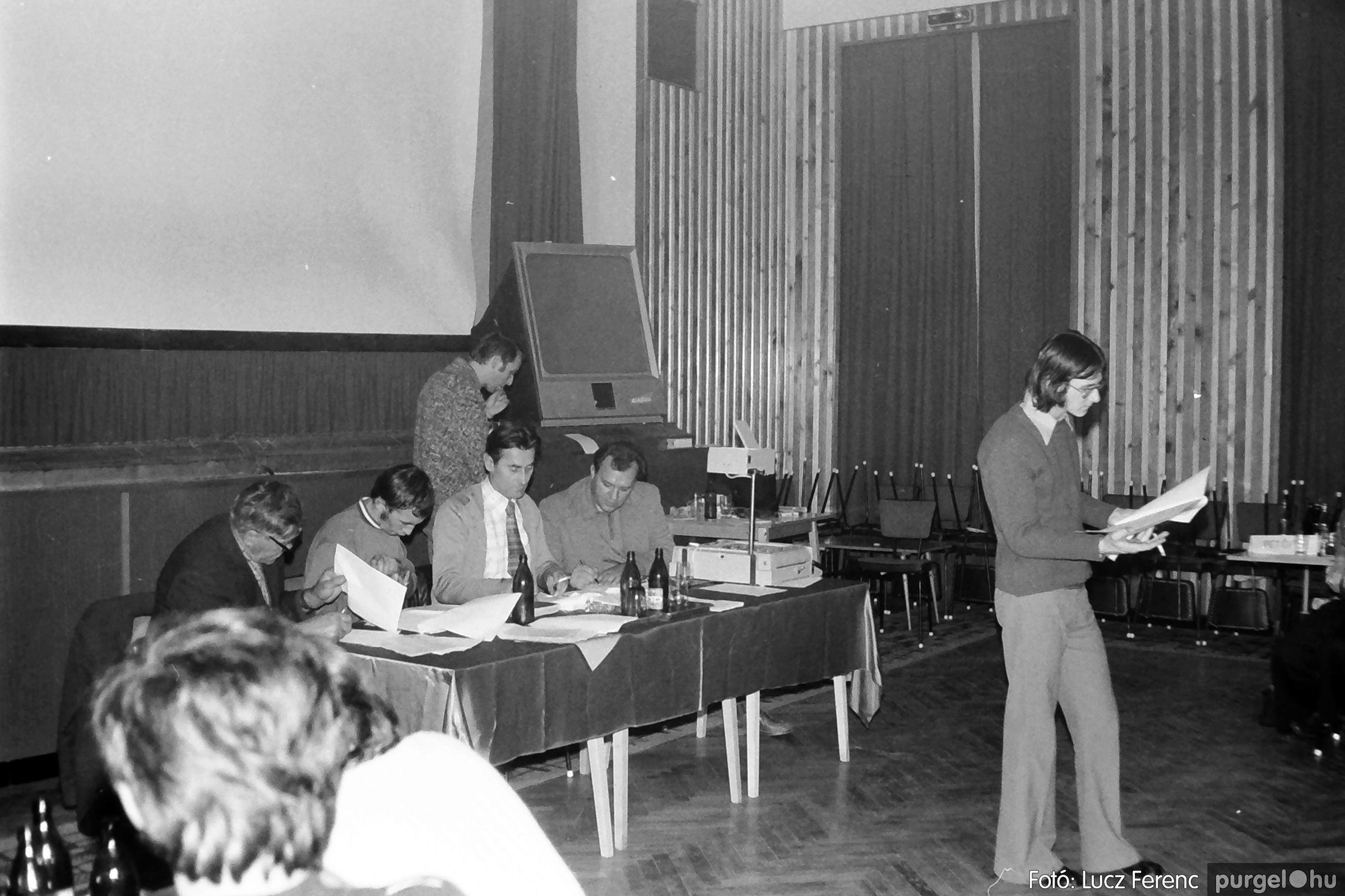 061, 063. 1976. Puskin TSZ szocialista brigádverseny 022. - Fotó: Lucz Ferenc.jpg