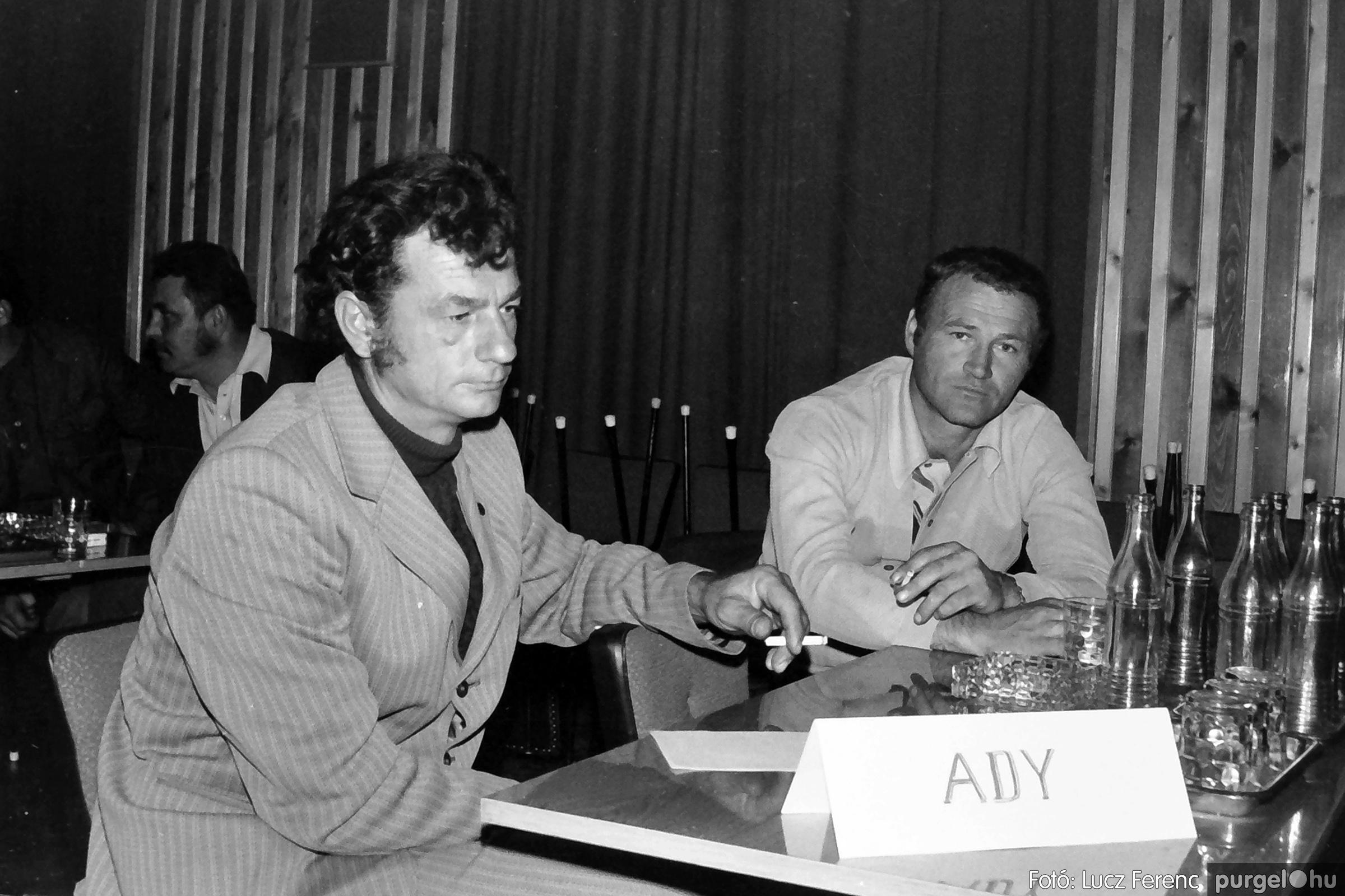 061, 063. 1976. Puskin TSZ szocialista brigádverseny 010. - Fotó: Lucz Ferenc.jpg