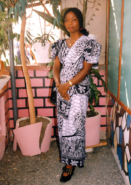 IMG_0044 MGS Memorabilia Letters and Writings from Veronica Laryea aka Vero Nima Accra Ghana West Africa. Beautiful African Cultural Fashion