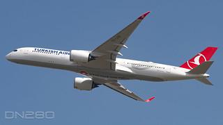 Turkish Airlines A350-941 msn 442--F-WZGK / TC-LGD