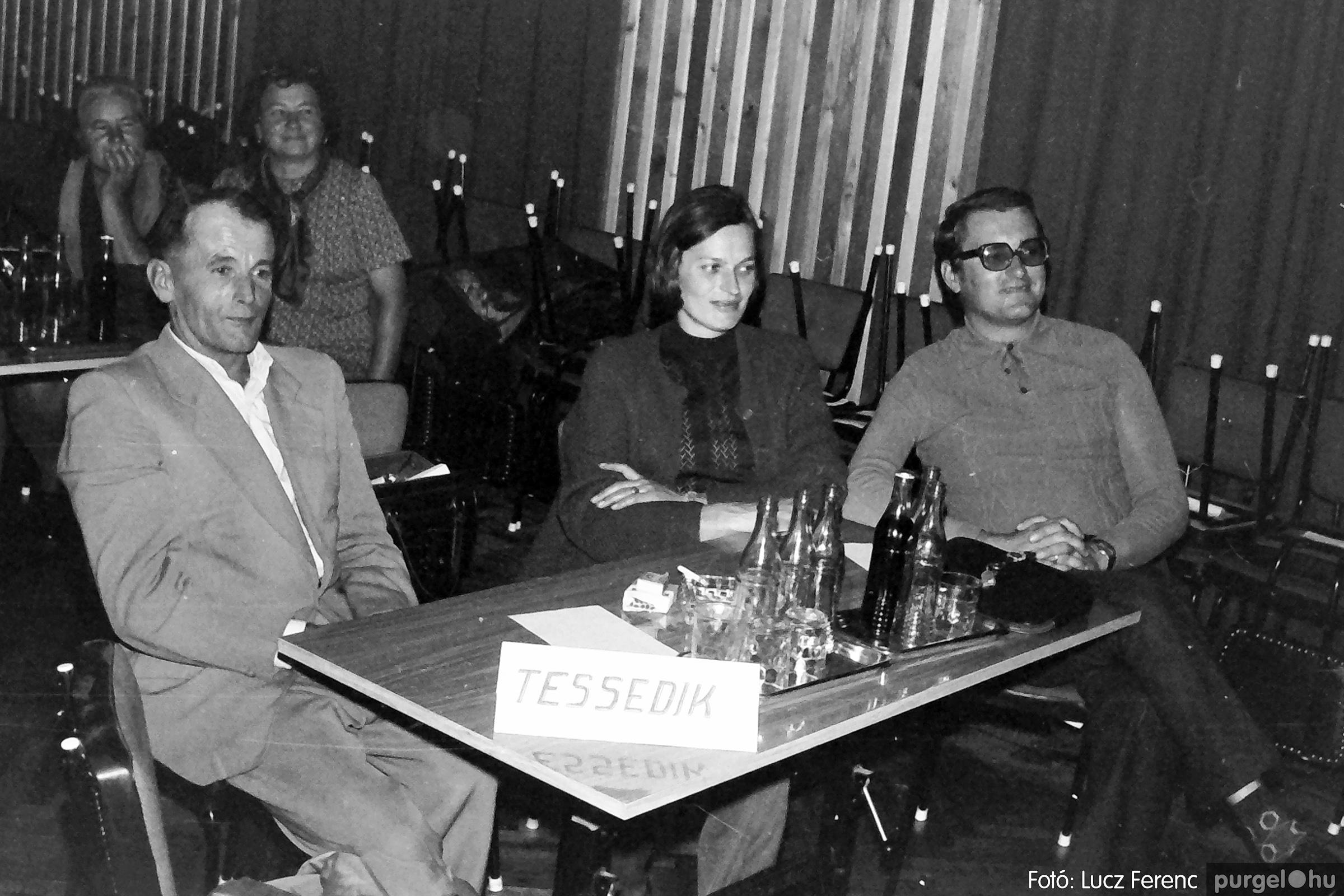 061, 063. 1976. Puskin TSZ szocialista brigádverseny 009. - Fotó: Lucz Ferenc.jpg