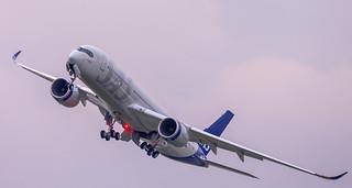 SAS SCANDINAVIAN AIRLINES A350-941