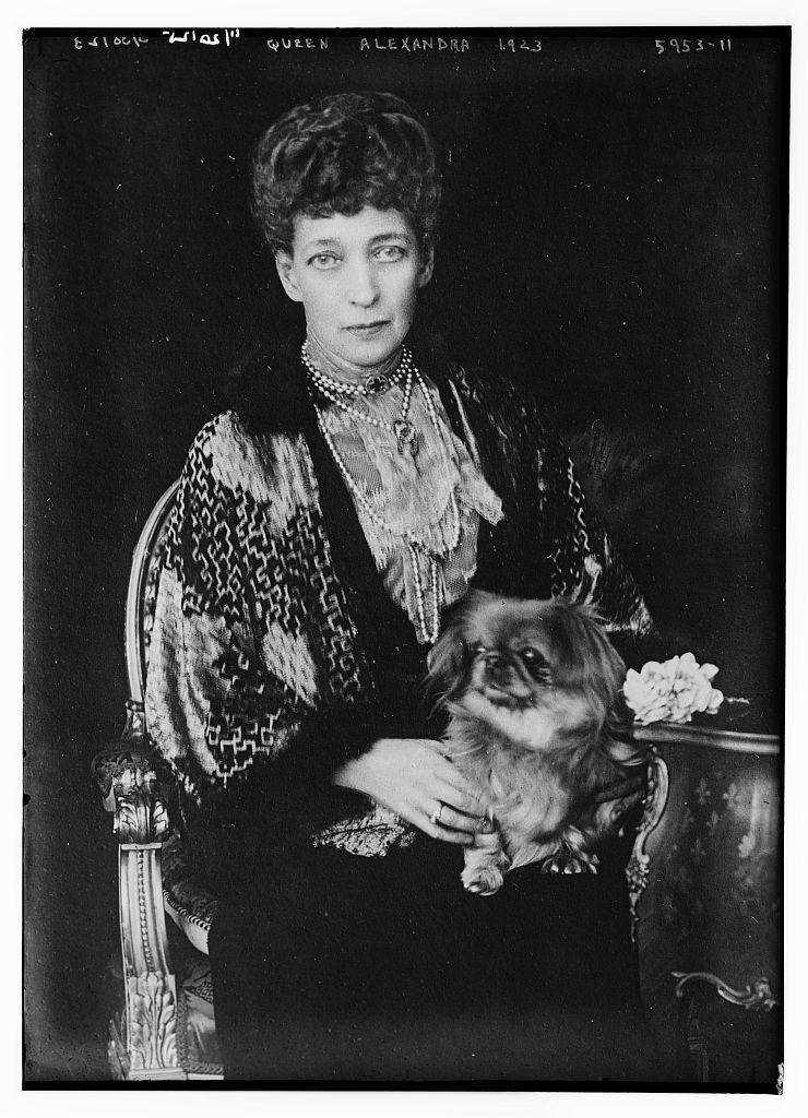 Queen Alexandra, 1923 (LOC)