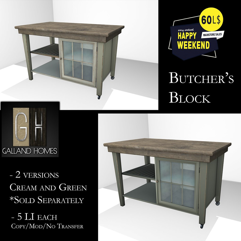Butcher's Block by Galland Homes - HWIW