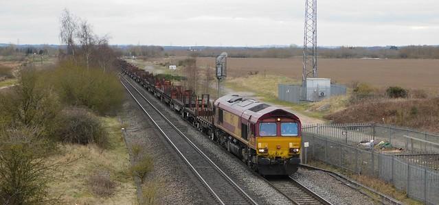 66133 - Wichnor Junction, Staffordshire
