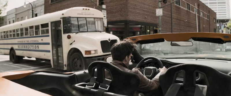 The chase scene and the bus