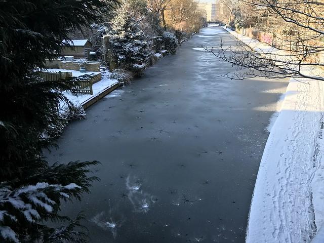 Frozen Canal