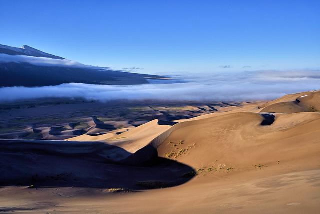 Beautiful Sunrise at Great Sand Dunes National Park, Colorado