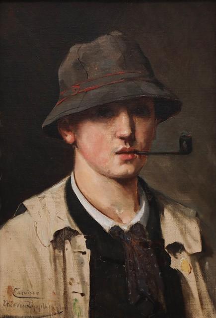 Zelfportret (Studie) (1880)