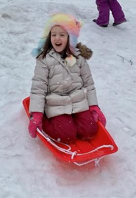 sledding joy