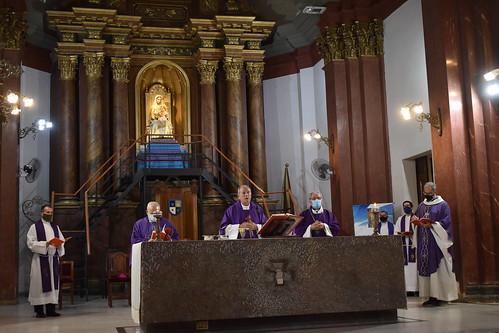 Misa de desagravio en catedral