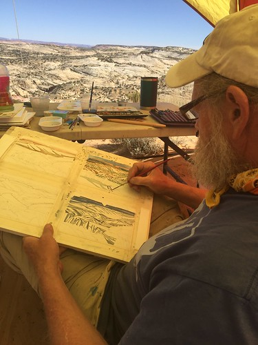 GSENM Plein Air Artist-In-Residence Program
