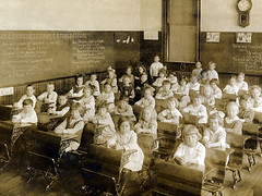 1st Grade at Franklin School 1920