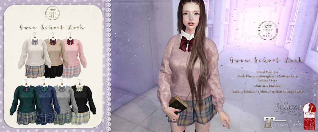 ::C'est la vie !:: Gwen School Look @School Day