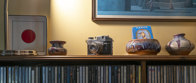 The Shelf of Things with a  Zeiss 16-35 f4 -- 2
