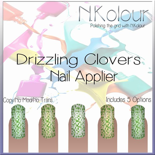 Drizzling Clovers Ad