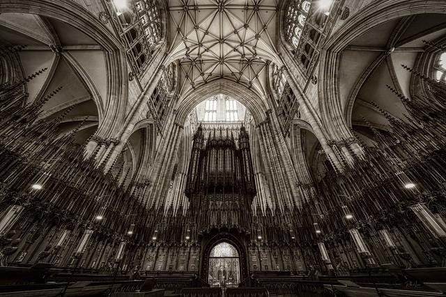 The Grand Organ, York Minster