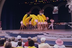 A rare photo of the giant banana show before they shut it down. #slide