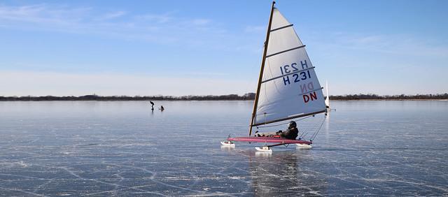 Ice sailor