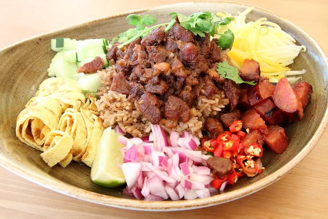 Khao kook gapi Boran, house-special rice fried with shrimp paste, Boran, Carroll Gardens, Brooklyn