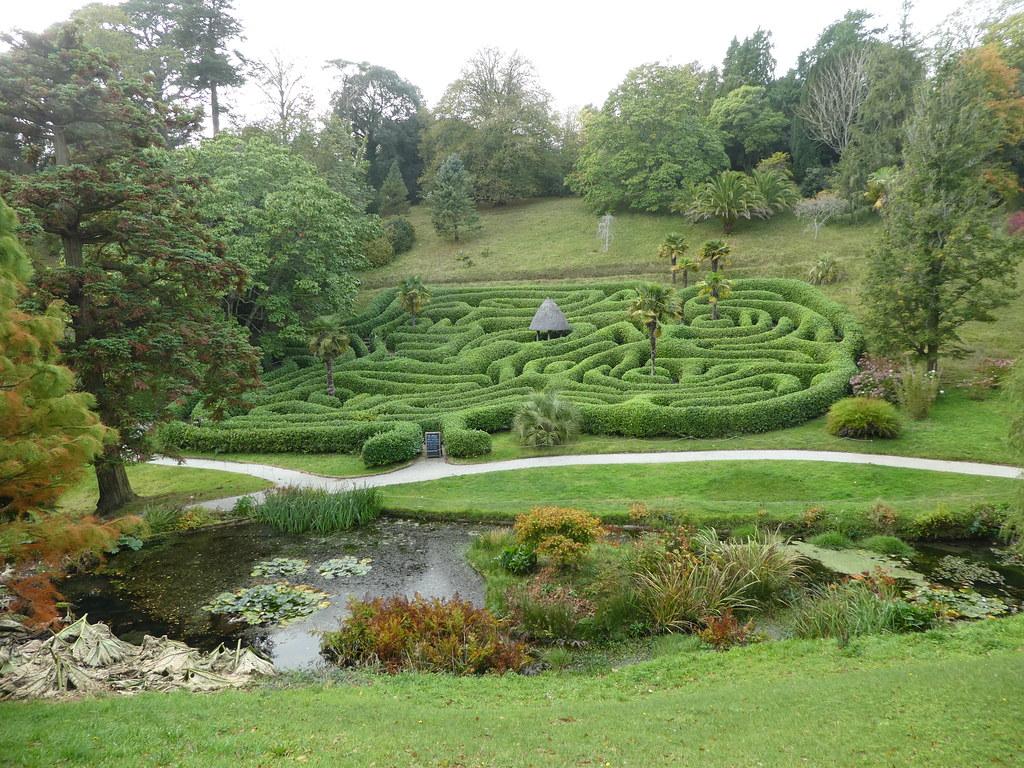 Cherry Laurel Maze, Glendurgan Garden, Cornwall