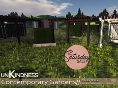 uK - Contemporary Gardens - TSS