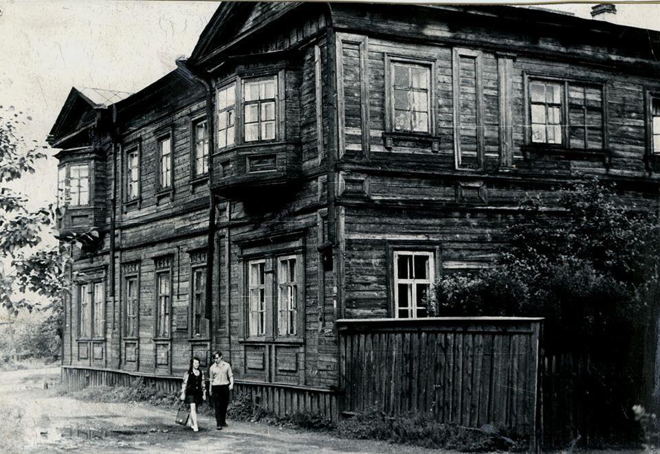 Дом №10  по переулку Волконского