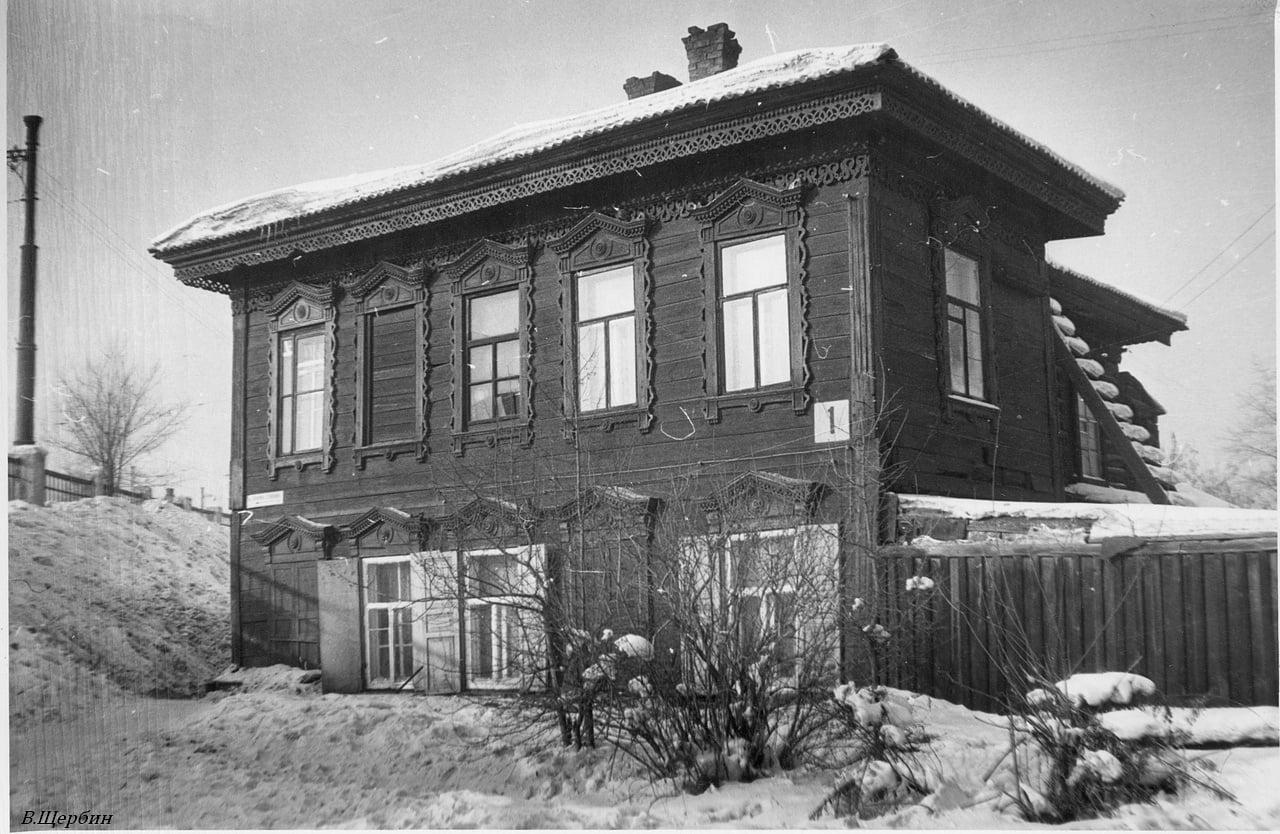 Дом №1 по улице Полины Осипенко