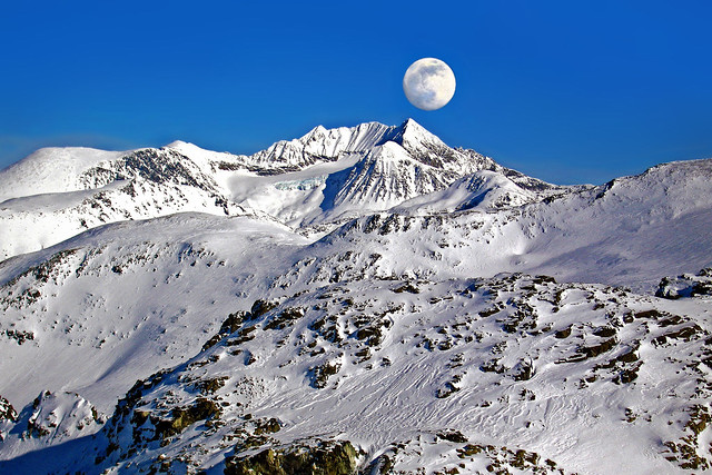 Mountain Moonscape
