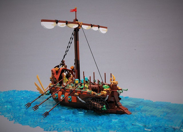 Spice ship on the Arkbri