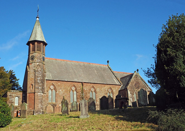 St John's Church, Beckermet, Cumbria, Uk
