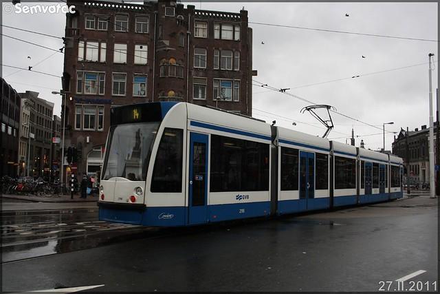 Siemens Combino type 13G – GVB (Gemeentelijk Vervoerbedrijf) n°2116