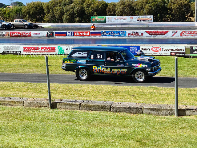 Holden EH Wagon Drag Car ( Bricklayer)