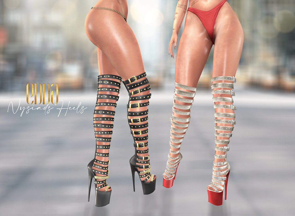 New Release@Nysiads Heels
