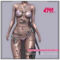 4761 - Sasageyo Tattoo