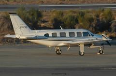 Aeropuerto internacional de San Carlos de Bariloche / Piper PA-31-350 Chieftain / LV-CYD